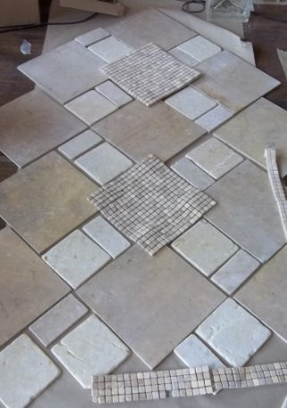 Tile for the shower floor